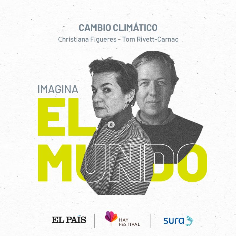 Charla con Cristiana Figueres y Tom Rivett-Carnac (Costa Rica/ RU) sobre cambio climático
