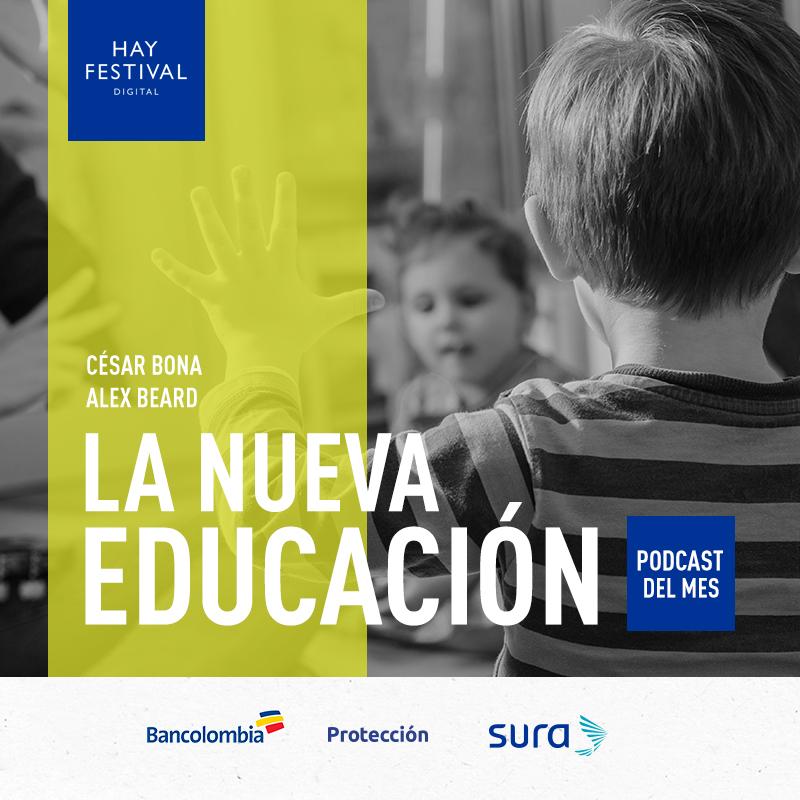 Pódcast sobre educación con Cesar Bona y  Alex Beard.