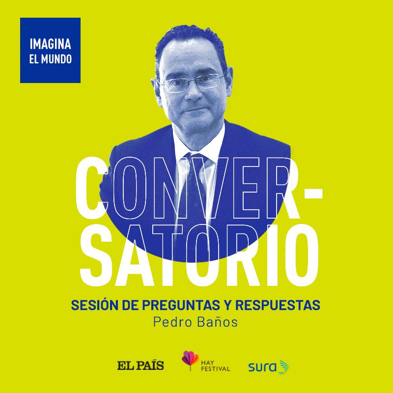 Un periodista de El País entrevista a  Pedro Baños