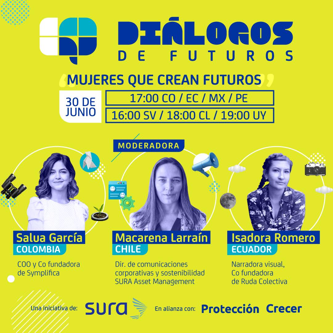 Diálogos de futuros: mujeres que crean futuros
