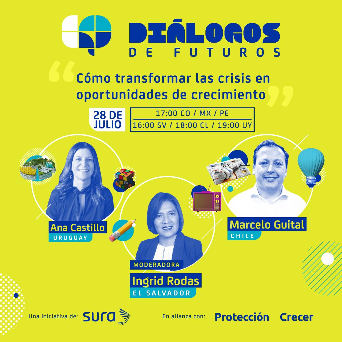 Diálogos de futuros: ¿Cómo transformar las crisis en oportunidades de crecimiento?